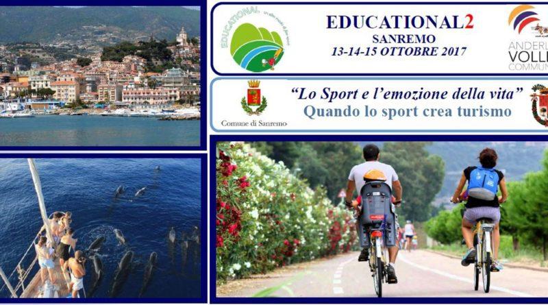 A Sanremo il 13-14 e 15 ottobre l'Educational2 della Scuola di Pallavolo Anderlini