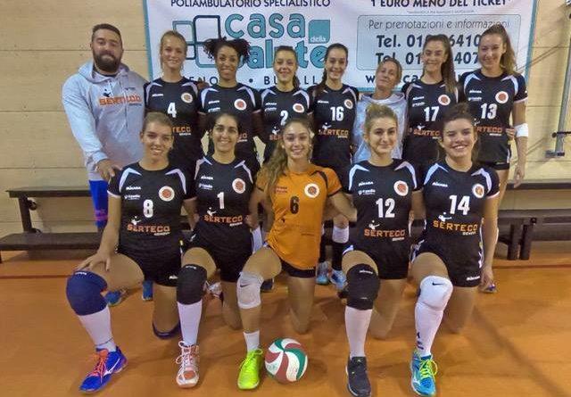 C FEMMINILE: Serteco Volley School promossa in serie B2