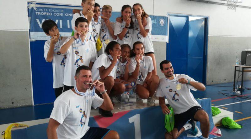 TROFEO CONI – PALLAVOLO: La Liguria è campione d'Italia under 12 grazie all'impresa delle ragazze dell'Amis Chiavari e dei ragazzi della Colombo Genova!