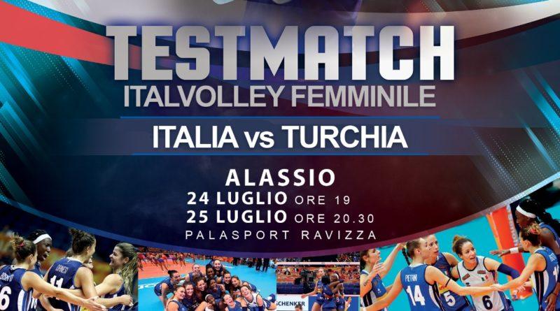 La Nazionale Femminile ritorna ad Alassio! Prenota i biglietti per Italia-Turchia del 24 e 25 luglio!