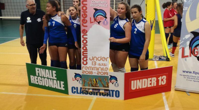 FINALE REGIONALE UNDER 13: Lunezia Volley e Colombo Genova campioni regionali!