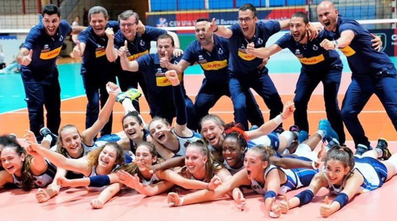 Splendido argento europeo per il nostro Oscar Maghella con la Nazionale Femminile Under 16!