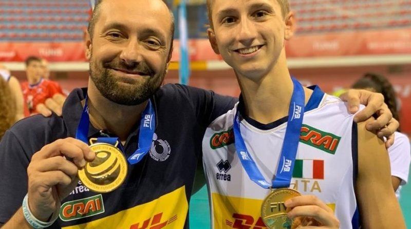 MONDIALE UNDER 19: I genovesi Paolo Porro e Luca Leoni sul tetto del mondo!
